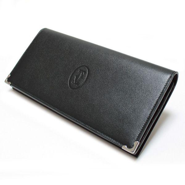 カルティエ Cartier 長財布 カルティエ カボション 財布 ブラック L3000585|ebsya|02