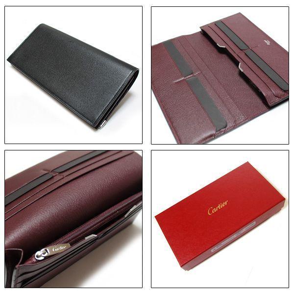 カルティエ Cartier 長財布 カルティエ カボション 財布 ブラック L3000585|ebsya|03