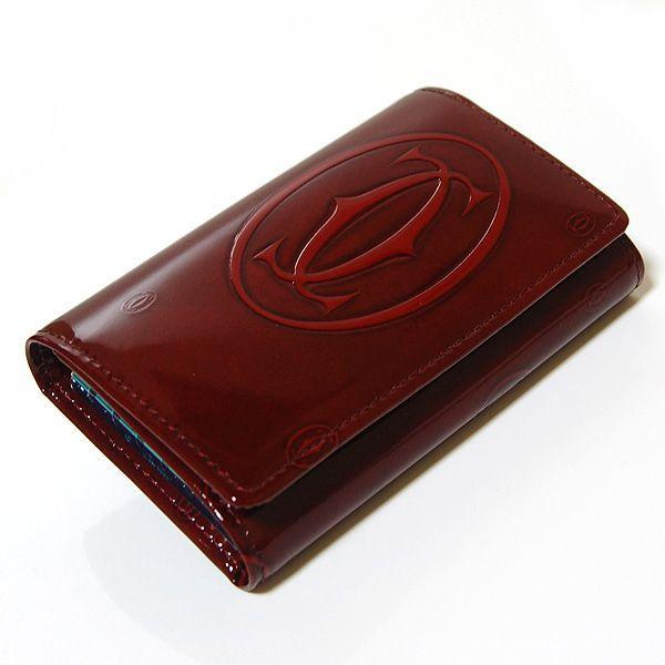 カルティエ Cartier 6連キーケース ハッピーバースデー ボルドー L3000929|ebsya|02