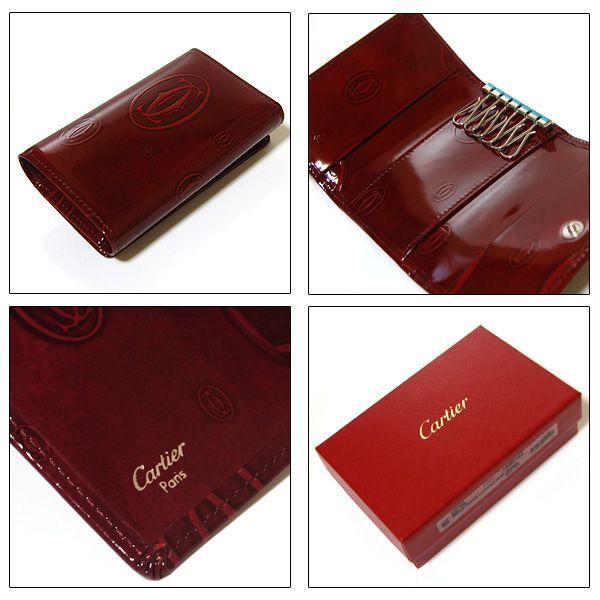 カルティエ Cartier 6連キーケース ハッピーバースデー ボルドー L3000929|ebsya|03