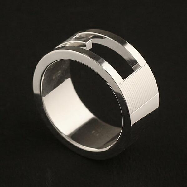グッチ GUCCI  リング 指輪 シルバー925 Gマーク Gリング ペアリング 032660 032661|ebsya|02