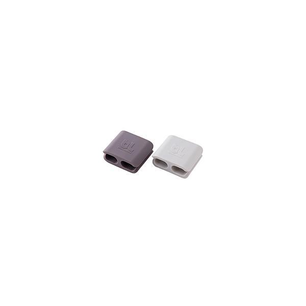 コードマネージャー Bluelounge ブルーラウンジ CableClips Large Pack Dark Grey/Light Grey BLD-CCL-DGLG ネコポス可|ec-kitcut