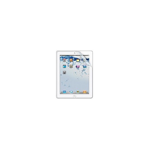iPad2/3/4 保護フィルム SANWA サンワサプライ iPad第4世代・iPad第3世代・iPad 2用液晶保護指紋防止光沢フィルム LCD-IPAD2KFPF ネコポス可|ec-kitcut