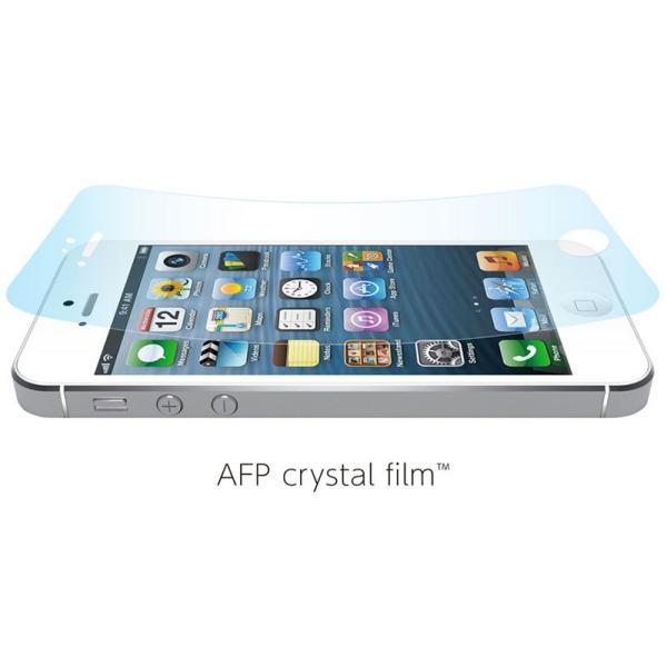 054da6e3c1 ... iPhone用液晶保護フィルム パワーサポート・PowerSupport AFPクリスタルフィルムセット for iPhone 5s; 全5枚