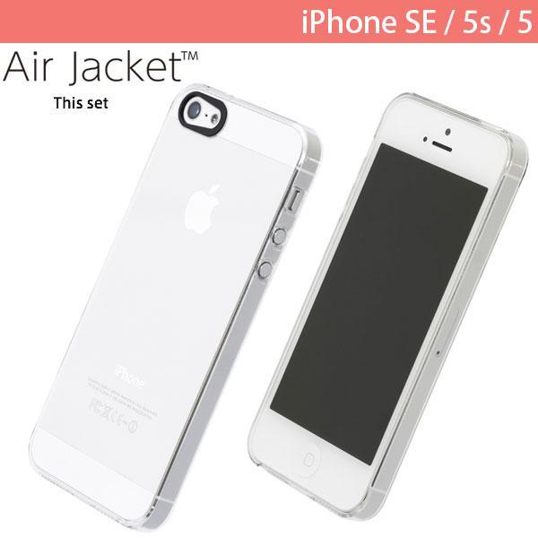 4759b50ad2 iPhoneSE / iPhone5s ケース PowerSupport パワーサポート iPhone SE / 5s / 5 エアージャケットセット  ...
