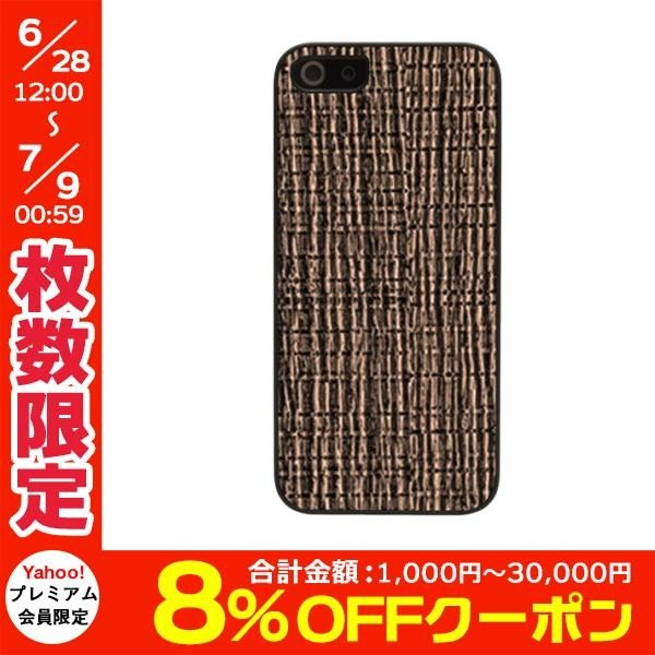 iPhoneSE / iPhone5s ケース Man & Wood マンアンドウッド iPhone SE / 5s / 5 Ikins Metal case Bronze Cliff I2435i5S ネコポス可|ec-kitcut|01