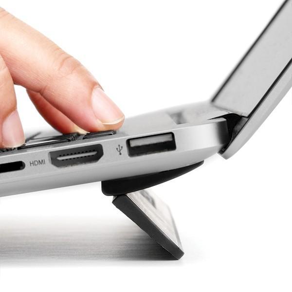 MacBook スタンド Bluelounge ブルーラウンジ Kickflip MacBook Pro 13 & MacBook 12 用フリップスタンド BLD-KF13-BK ネコポス送料無料|ec-kitcut|02