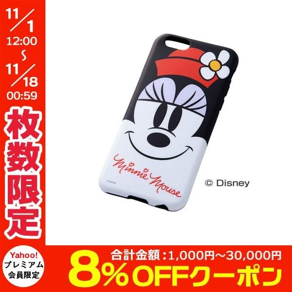 iPhone6s ケース Ray Out レイアウト iPhone 6 / 6s ディズニー・クローズアップ・ソフトジャケット / ミニー RT-DP7H/MN ネコポス送料無料|ec-kitcut