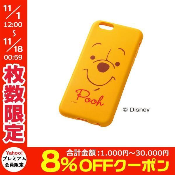 iPhone6s ケース Ray Out レイアウト iPhone 6 / 6s ディズニー・クローズアップ・ソフトジャケット / プー RT-DP7H/PO ネコポス送料無料 ec-kitcut