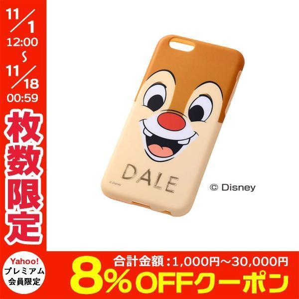 iPhone6s ケース Ray Out レイアウト iPhone 6 / 6s ディズニー・クローズアップ・ソフトジャケット / デール RT-DP7H/DL ネコポス送料無料|ec-kitcut