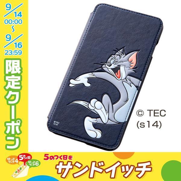 iPhone6sPlus ケース  レイアウト Ray Out iPhone 6 Plus ワーナー ポップアップ ブックカバータイプ レザージャケット トム ネコポス不可 ec-kitcut