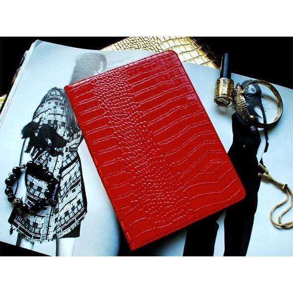 iPad Air2 ケース GAZE ゲイズ iPad Air 2 Vivid Croco Diary レッド GZ5057iPA2 ネコポス不可|ec-kitcut|02