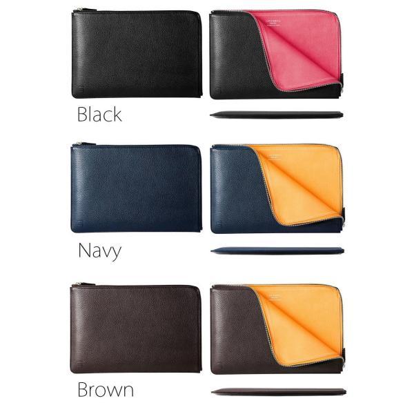 Macノート用スリーブケース GRAMAS MacBook Air 11inch Meister Leather Sleeve グラマス ネコポス不可|ec-kitcut|05