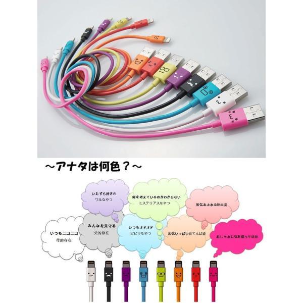 Lightning USBケーブル Logitec Lightningケーブル 1.2m カラフル ロジテック ネコポス可|ec-kitcut|04