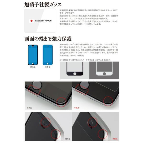 Deff iPhone 6 Plus / 6s Plus High Grade Glass Screen Protector 0.33mm ディーフ ネコポス送料無料|ec-kitcut|03