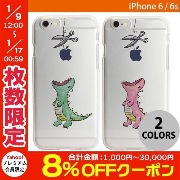 iPhone6s ケース Dparks iPhone 6s / 6 ソフトケース ファンタジー はらぺこザウルス ディーパークス ネコポス可|ec-kitcut