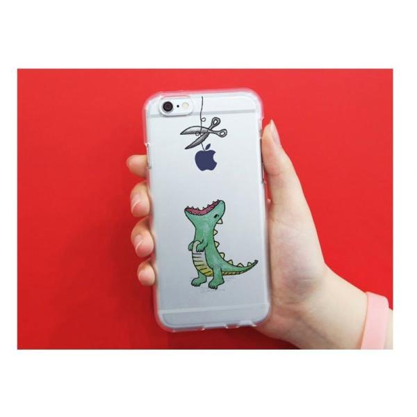 iPhone6s ケース Dparks iPhone 6s / 6 ソフトケース ファンタジー はらぺこザウルス ディーパークス ネコポス可|ec-kitcut|06