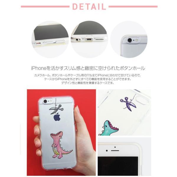 iPhone6s ケース Dparks iPhone 6s / 6 ソフトケース ファンタジー はらぺこザウルス ディーパークス ネコポス可|ec-kitcut|08