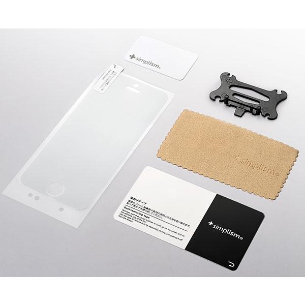 iPhone用液晶保護フィルム Simplism シンプリズム iPhone SE / 5s / 5c / 5 超抗菌&耐衝撃液晶保護フィルム TR-PFIP16E-CSKCC ネコポス可|ec-kitcut|02
