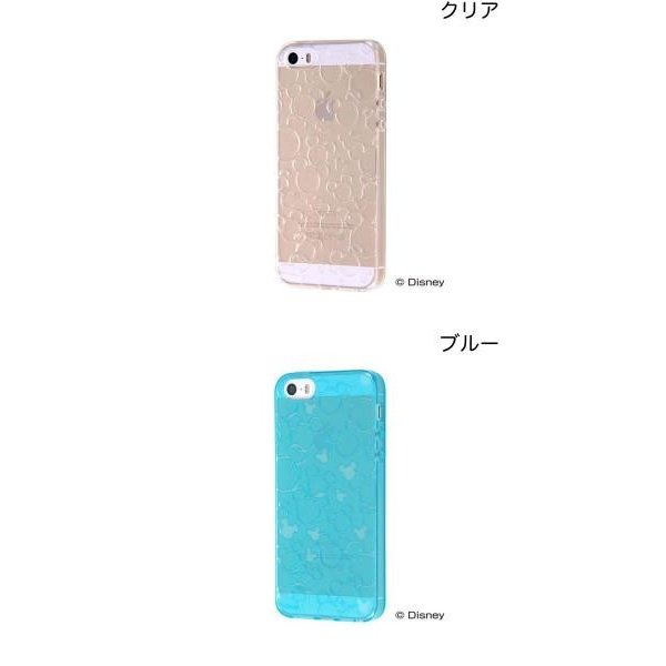 iPhoneSE / iPhone5s ケース Ray Out レイアウト iPhone SE / 5s / 5 ディズニー TPUソフトケース キラキラ クリア RT-DP11A/MFC ネコポス可|ec-kitcut|02