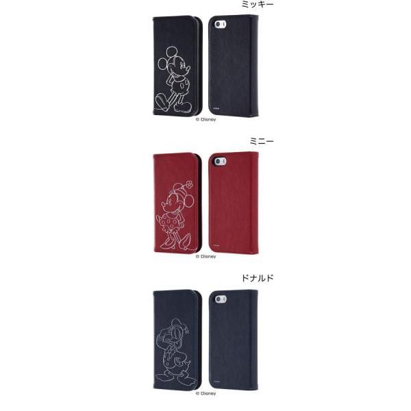 iPhoneSE / iPhone5s ケース Ray Out レイアウト iPhone SE / 5s / 5 ディズニー 手帳型ケース ホットスタンプ ミッキー RT-DP11I/MK ネコポス送料無料|ec-kitcut|02