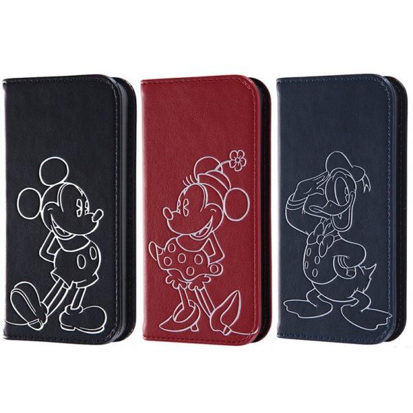 iPhoneSE / iPhone5s ケース Ray Out レイアウト iPhone SE / 5s / 5 ディズニー 手帳型ケース ホットスタンプ ミッキー RT-DP11I/MK ネコポス送料無料|ec-kitcut|03