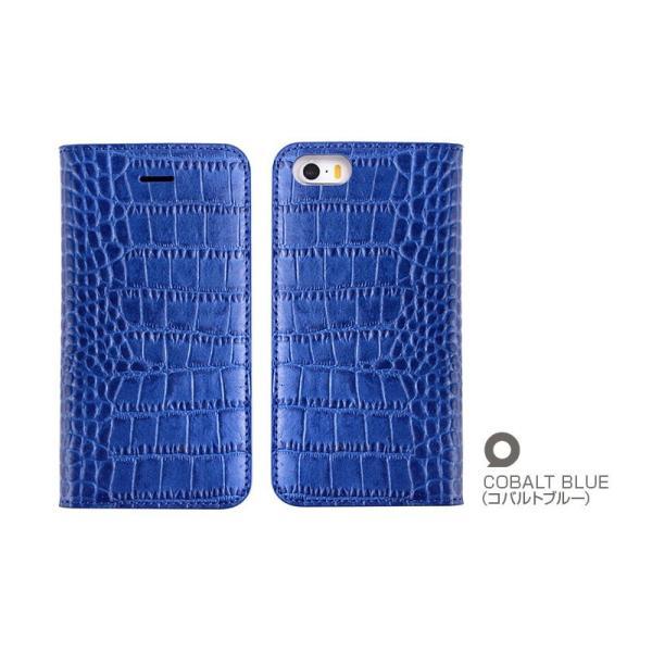 iPhoneSE / iPhone5s ケース GAZE iPhone SE / 5s / 5 Vivid Croco Diary 手帳型 ケース  ネコポス不可|ec-kitcut|06