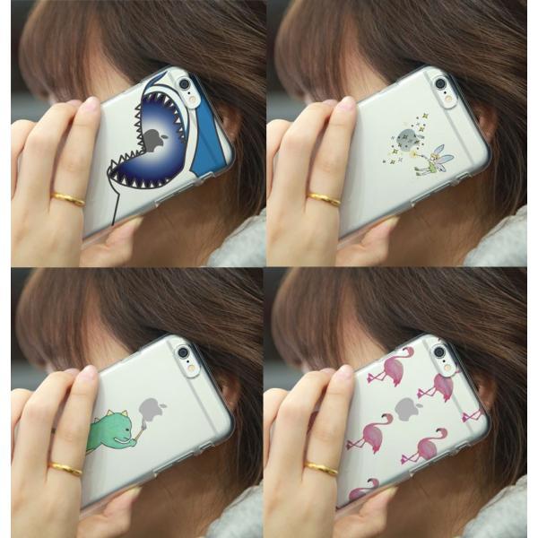 iPhone6s ケース Dparks ディーパークス iPhone 6 / 6s ソフトクリアケース ジョーズ DS7718i6S ネコポス可|ec-kitcut|06