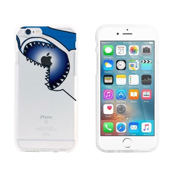 iPhone6s ケース Dparks ディーパークス iPhone 6 / 6s ソフトクリアケース ジョーズ DS7718i6S ネコポス可|ec-kitcut|08