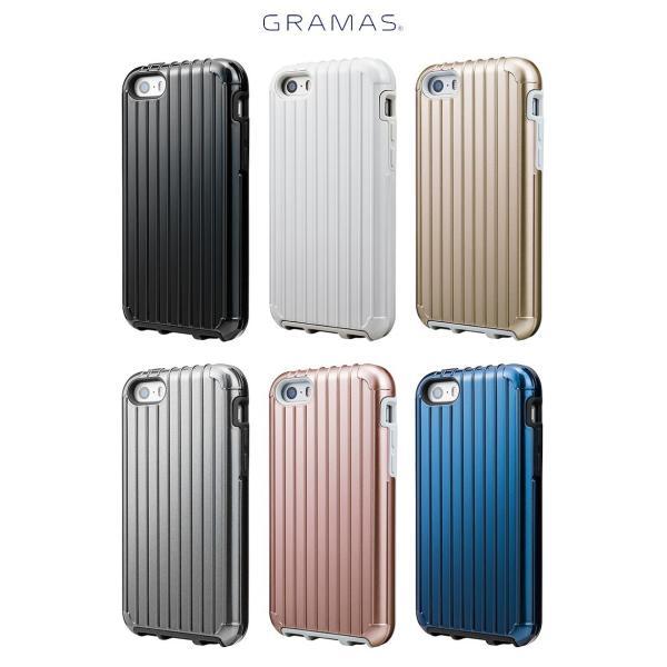 iPhoneSE / iPhone5s ケース GRAMAS グラマス iPhone SE / 5s / 5c /5 COLORS Rib Hybrid Case Black CHC416BK ネコポス送料無料 ec-kitcut 04