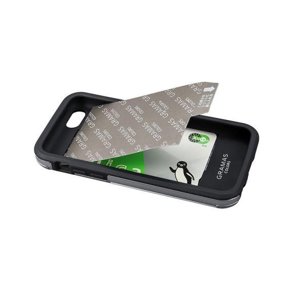 iPhoneSE / iPhone5s ケース GRAMAS グラマス iPhone SE / 5s / 5c /5 COLORS Rib Hybrid Case Black CHC416BK ネコポス送料無料 ec-kitcut 06