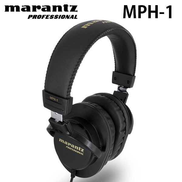 ヘッドホン marantz professional マランツ プロフェッショナル MPH-1 40mm Over-Ear Monitoring Headphone MP-HPH-001 ネコポス不可|ec-kitcut