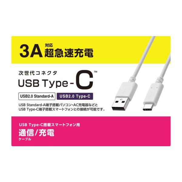 ケーブル エレコム ELECOM USB2.0ケーブル認証品、A-C 0.15m ブラック MPA-AC01NBK ネコポス可 ec-kitcut 02