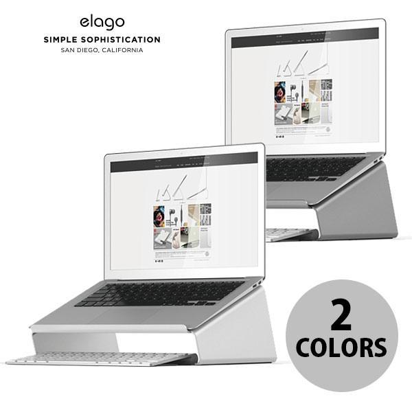 MacBook スタンド elago L4 STAND for MacBook  エラゴ ネコポス不可|ec-kitcut