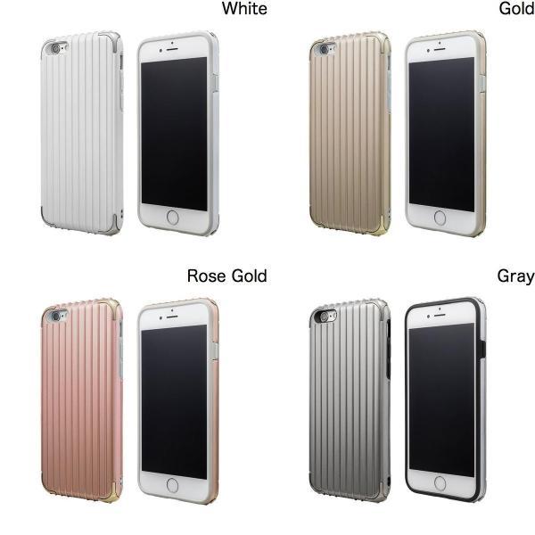 iPhone6s ケース GRAMAS グラマス iPhone 6 / 6s COLORS Rib Hybrid Case White CHC406WH ネコポス送料無料|ec-kitcut|02
