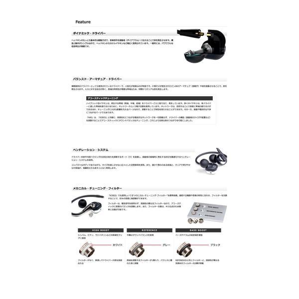 カナル イヤホン AKG アーカーゲー N40 ハイレゾ対応着脱式カナルイヤホン ブラック/クローム N40SIL ネコポス不可 ec-kitcut 03