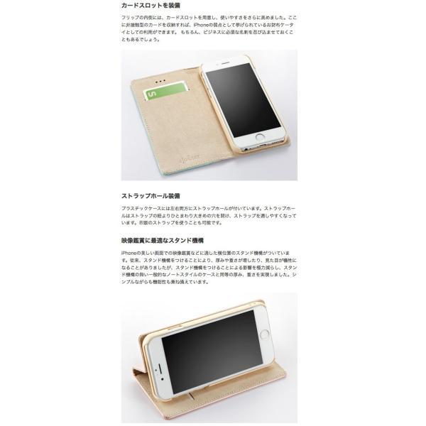 iPhone8 / iPhone7 / iPhone6s / iPhone6 ケース Simplism iPhone 8 / 7 / 6s / 6 FlipNote フリップノートケース ネコポス送料無料|ec-kitcut|07