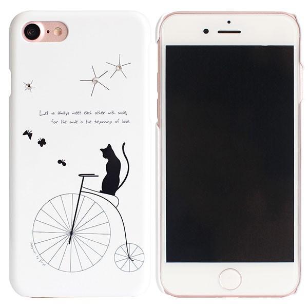 iPhone8 / iPhone7 スマホケース Happymori ハッピーモリー iPhone 8 / 7 Bike Riding Cat HM8227i7 ネコポス不可|ec-kitcut|02