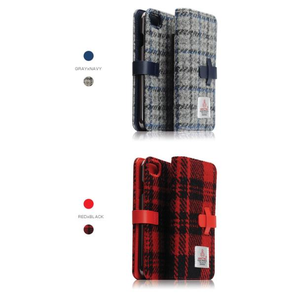 iPhone8 / iPhone7 スマホケース SLG Design エスエルジー デザイン iPhone 8 / 7 Harris Tweed Diary ブラック SD8117i7 ネコポス不可|ec-kitcut|12