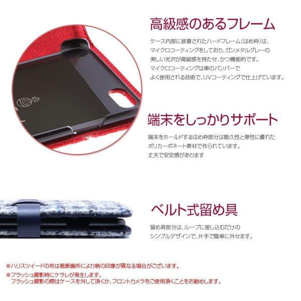 iPhone8 / iPhone7 スマホケース SLG Design エスエルジー デザイン iPhone 8 / 7 Harris Tweed Diary ブラック SD8117i7 ネコポス不可|ec-kitcut|06