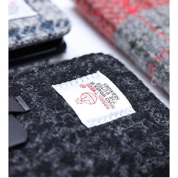 iPhone8 / iPhone7 スマホケース SLG Design エスエルジー デザイン iPhone 8 / 7 Harris Tweed Diary ブラック SD8117i7 ネコポス不可|ec-kitcut|08