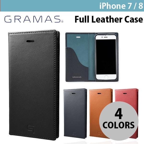 iPhone8 / iPhone7 スマホケース GRAMAS iPhone 8 / 7 Full Leather Case グラマス ネコポス不可|ec-kitcut