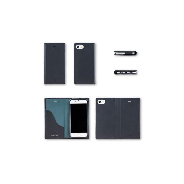 iPhone8 / iPhone7 スマホケース GRAMAS iPhone 8 / 7 Full Leather Case グラマス ネコポス不可|ec-kitcut|04