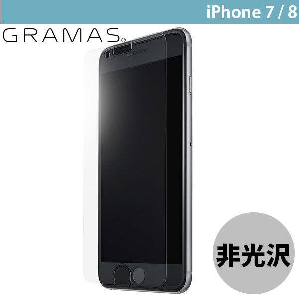 iPhone8 / iPhone7 ガラスフィルム GRAMAS グラマス iPhone 8 / 7 Protection Glass Anti Glare 0.33mm GL-106AG2 ネコポス送料無料|ec-kitcut