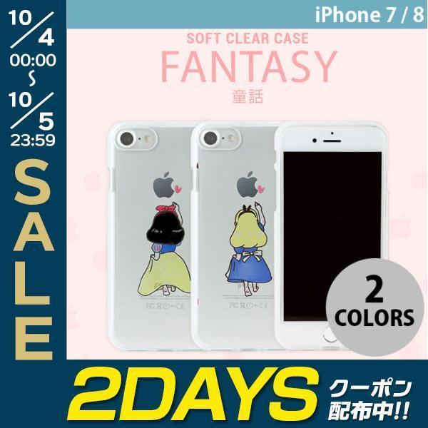08123cd723 iPhone8 / iPhone7 スマホケース Dparks iPhone 8 / 7 ソフトクリアケース ディーパークス ネコポス可 ...