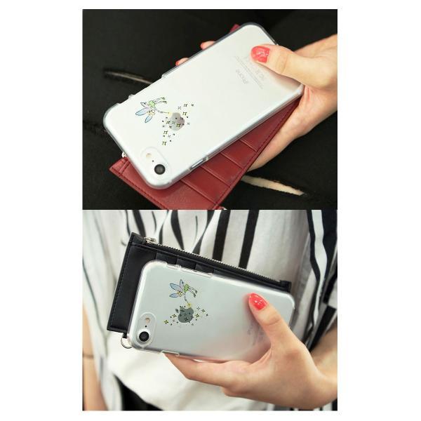 iPhone8 / iPhone7 スマホケース Dparks ディーパークス iPhone 8 / 7 ソフトクリアケース ティンカーベル DS8282i7 ネコポス可|ec-kitcut|05