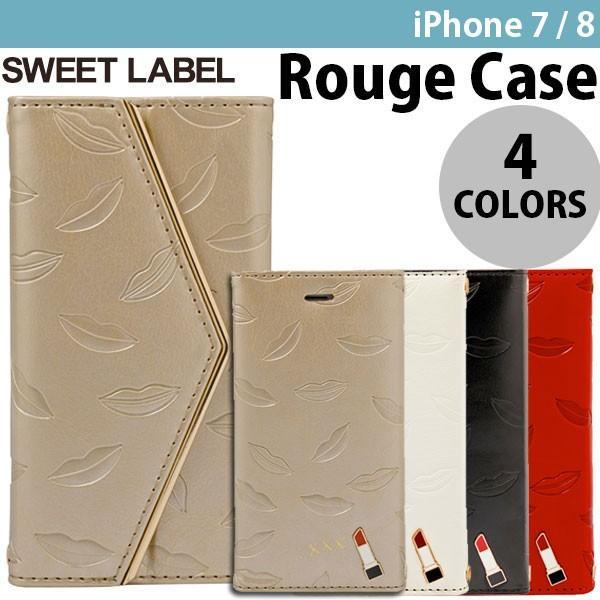 iPhone8 / iPhone7 スマホケース SWEET LABEL Rouge Case for iPhone 8 / 7 スイートレーベル ネコポス可 ec-kitcut
