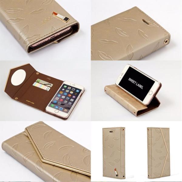 iPhone8 / iPhone7 スマホケース SWEET LABEL Rouge Case for iPhone 8 / 7 スイートレーベル ネコポス可 ec-kitcut 03