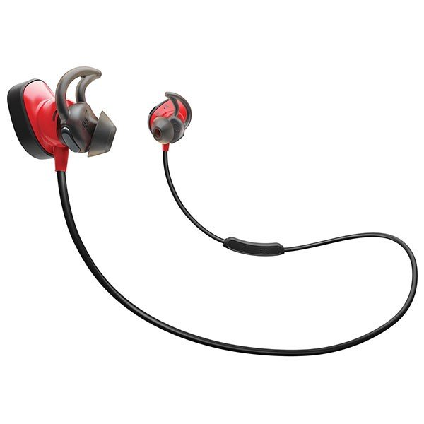 ワイヤレス イヤホン BOSE ボーズ SoundSport Pulse wireless headphones Power Red SSport PLS WLSS RED ネコポス不可 wcc|ec-kitcut