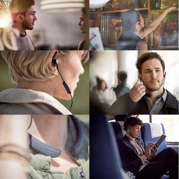 ノイズキャンセリング イヤホン ワイヤレス BOSE ボーズ QuietControl 30 wireless headphones Black QuietControl30 WLSS BLK ネコポス不可|ec-kitcut|05